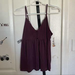 American Eagle Outfitters Purple Tank Top Size S